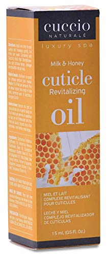 Cuccio Naturalé Milk & Honey Cuticle Revitalizing Oil – Lightweight Super-Penetrating – Nourish, Soothe & Moisturize…