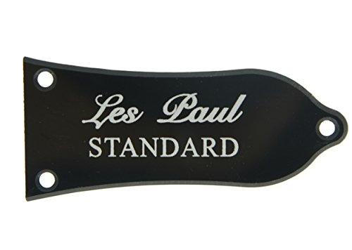 Cubierta Kaish de 2 capas blanca y negra para alma con impresión de «Les Paul Standard», estilo Epiphone