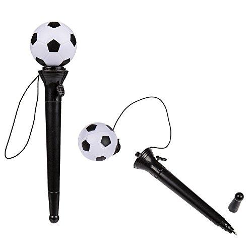 Fußballfeder - Fußball Kugelschreiber - mit Aktivierungsmechanismus - Football pen