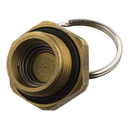 febi bilstein 103098 Entwässerungsventil mit Zugring und O-Ring