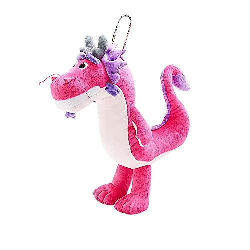 Wishing Dragon Plüschpuppe U-förmiges Kissen Drachenspielzeug Gefüllte Teekanne Fancy Cute Nackenkissen Puppe Anhänger Home Sofa Dekoration Cartoon Anime Plushie Kissen