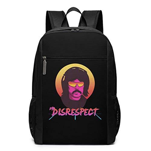 School Bag Travel Daypack, Violence Speed Momentum Gaming Dr. Disrespect Backpacks Travel School Large Bags Shoulder Laptop Bag for Men Women Kids