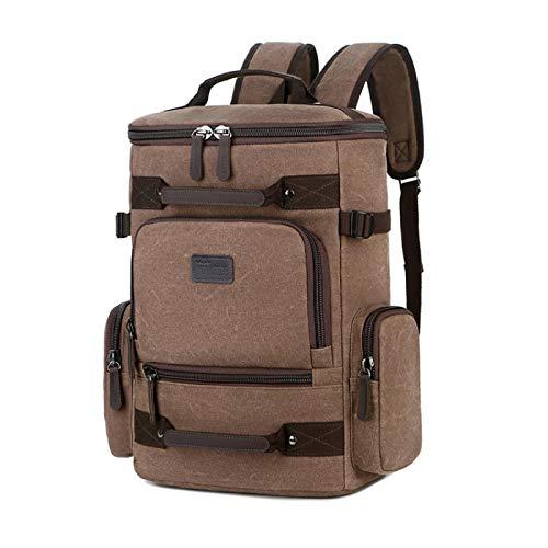 Mochila Backpack Impermeable Mochila Casual De Lona para Hombre, Mochila De Viaje Impermeable para Mujer, Mochilas Multifunción paraOrdenador Portátil De17 Pulgadas,Bolsa Entrega Rápida Gratuita