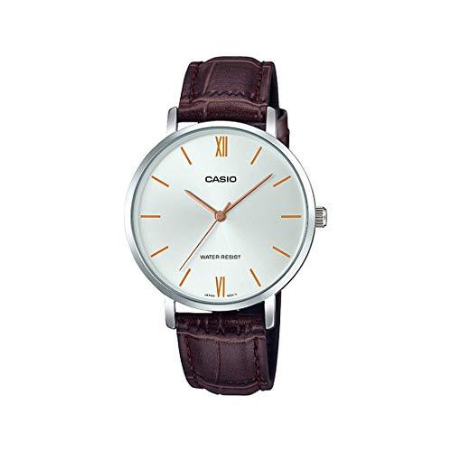 Casio Analog Silver Dial Women's Watch-LTP-VT01L-7B2UDF (A1628)