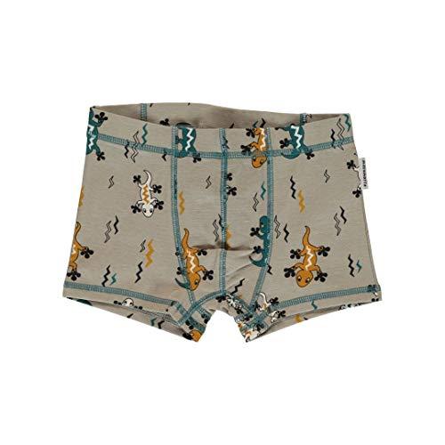 maxomorra Jungen Boxershorts/Unterhose mit Eidechsen Größe 86/92
