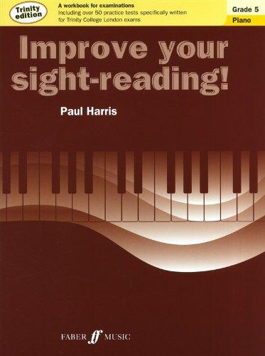 Paul Harris: Improve Your sight-reading–PIANO GRADE 5(Trinity Edition)–Noten