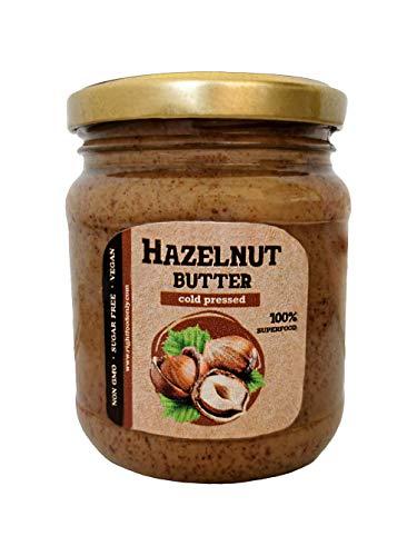 Mantequilla de avellana prensado en frío Urbech crudo 230 gr - Salsa...