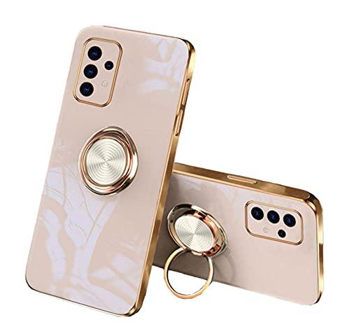 Carcasa compatible con Samsung A72 Carcasa para Samsung Galaxy A72 (silicona líquida, antigolpes, antiarañazos, protección contra arañazos, protección de la carcasa (Abricot, Samsung A72)