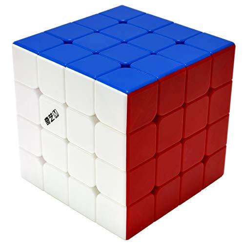 QY Toys MS Zauberwürfel 4x4, Speed 4x4x4 Magic Cube Magische Speed für Anfänger und Fortgeschrittene, Kinder Jugendlichen