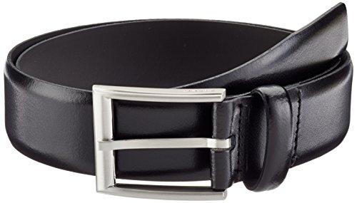ESPRIT - Ceinture Homme - aus Leder - Noir (BLACK 001) - FR : 100 (Taille fabricant : 100 cm)