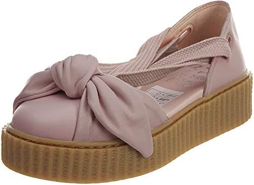 PUMA Women's Fenty x Bow Creeper Sandals, Silver Pink/Silver Pink, 7 B(M) US