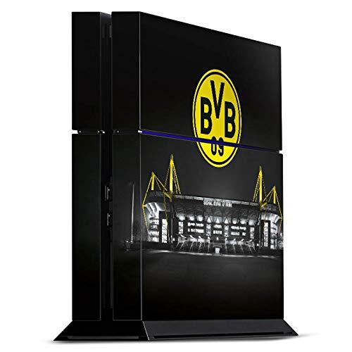 DeinDesign Skin kompatibel mit Sony Playstation 4 PS4 Folie Sticker BVB Stadion Borussia Dortmund