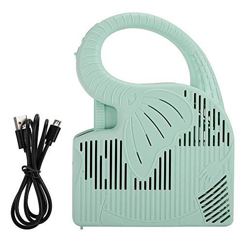 JULYKAI Batteria Ricaricabile Integrata agli ioni di Litio da 2000 mAh, Mini proiettore, videoproiettore, Scheda di Memoria per Supporto dell'aspetto dell'Acqua a spruzzo dell'elefante, per la casa