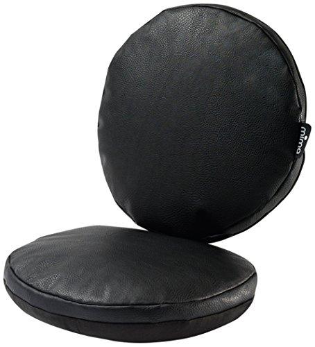 Mima - Set coussins junior pour chaise haute Moon - Noir