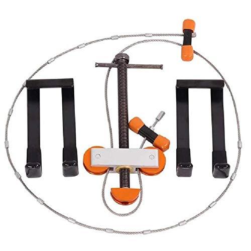 OPNIGHDYMD Metall-Composite-Bogen-Bending Bracket Set, Draht einfache Bogen-Öffner, Pfeil und Bogen Verbundrolle, Bow String Ersatzwerkzeug