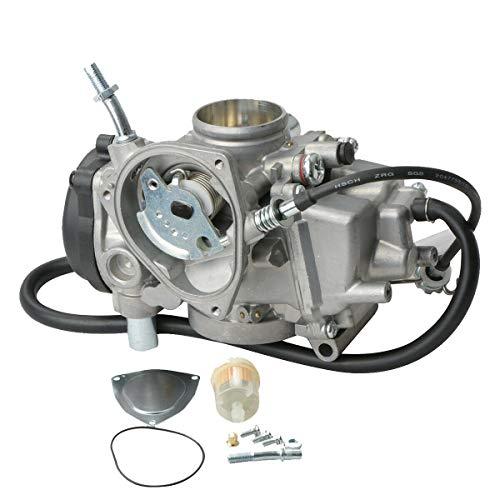MOSTPLUS Carburetor Compatible for ATV Yamaha 2000-2006 Kodiak 400 YFM400 & Big Bear 400 2004-2006 Bruin 350 2007-2011 Grizzly 350 2007-2012 Grizzly 450 2006-2009 Wolverine 350 2007-2010 Wolverine 450