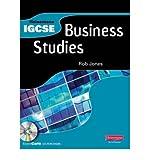 Heinemann IGCSE Business Studies Student Book with Exam Cafe CD (Heinemann IGCSE) (Mixed media product) - Common