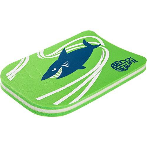Beco Unisex Jugend Shark Schwimmbrett, grün, One Size