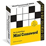 The New York Times Mini Crossword Page-A-Day Calendar for 2022: 365 Days  Worth of Bite-Sized Wordplay