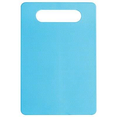 Planche à découper en Plastique Tableaux de Classification des Aliments à l'extérieur Camping Légumes Fruits Viandes Coupe de Pain Blocs à découper - Bleu