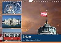 Wien, eine Hauptstadt mit Flair (Wandkalender 2022 DIN A4 quer): Erleben Sie,was diese Stadt ausmacht und spueren Sie das einzigartige Flair Wiens. (Monatskalender, 14 Seiten )