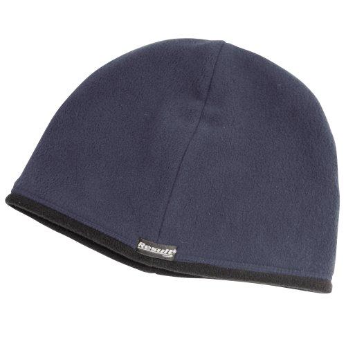 Result - Bonnet Polaire réversible - Homme (L) (Bleu Marine/Noir)