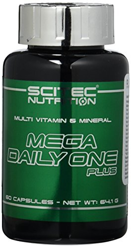 Scitec Nutrition Vitamin Mega Daily One Plus, 60 Kapseln, 1er Pack (1 x 64g)