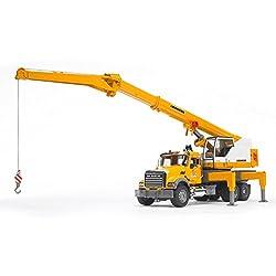 top 10 truck cranes Bruder 02818 Mack Granit Liebherr Mobile Crane