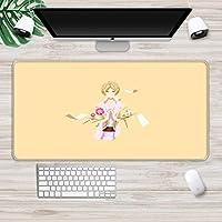 マウスパッド アニメプリントマウスパッド滑り止めラバーパッドオフィスコンピュータキーボードマウスパッドゲーミングマウスパッドBXl(30X80Cm)