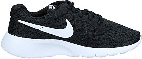 Nike Uniseks Tanjun (Gs) Buty do Biegania, Czarny/Biały 38,5 EU