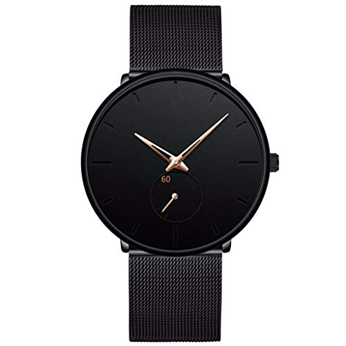Heren Sport Horloges Ultra Dunne Casual Waterdichte Sport Horloge Quartz Full Steel Mannen Horloge