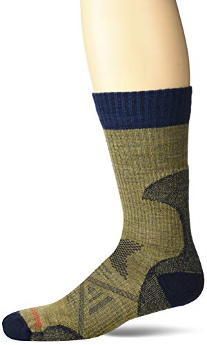 Smartwool Men's PhD Pro Light Crew Socks (Desert Sand, Large)