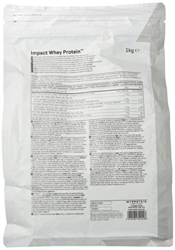 Myproteinマイプロテインホエイ・Impactホエイプロテイン(ナチュラルストロベリー,1kg)1Kg