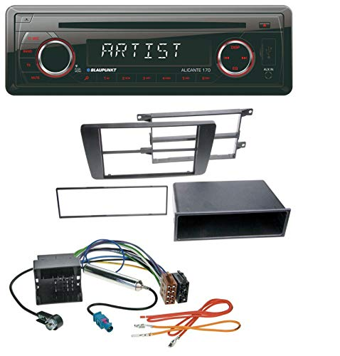 caraudio24 Blaupunkt Alicante 170 CD USB SD MP3 AUX Autoradio für Skoda Octavia II 2004-2013 Yeti ab 2009