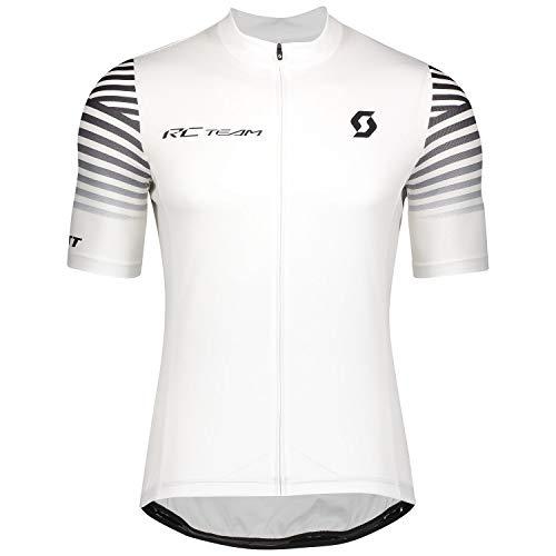 Scott RC Team 10 Fahrrad Trikot kurz weiß 2020: Größe: XXL (54/56)