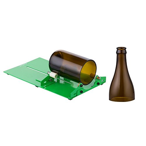 Wine Bottle Cutting Tool, AceList Long Glass Cutter Machine for Wine Jar Etching Bottle DIY Reuse Recycle Bear Bottle Planters, Bottle Lamps