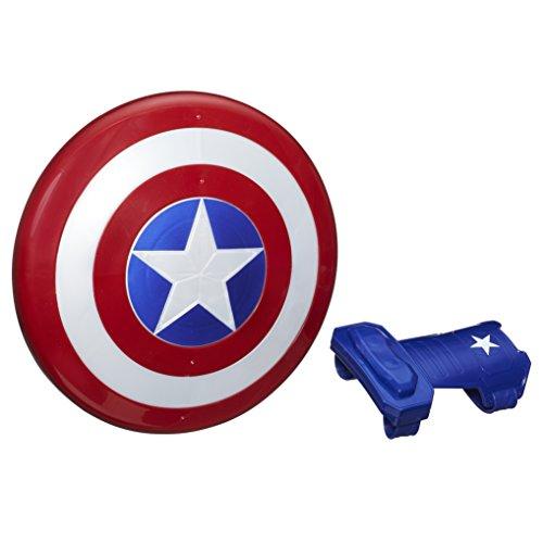 Hasbro Marvel B9944EU6 Avengers Captain America magnetischer Schild, Verkleidung für heldenhafte Rollenspiele, Multicolor