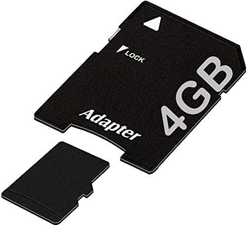 tomaxx Micro SDHC Speicherkarte für Garmin DriveSmart 4GB UHS-1 Class 10 Karte inkl. SD-Adapter passt für Garmin Drive Smart 40, 55, 61, 65