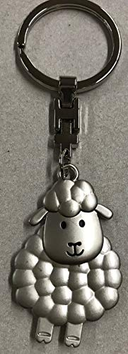 GILDE Schlüsselanhänger Schaf Metall matt oder glänzend