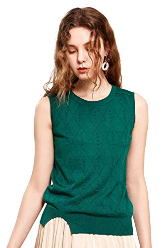zhili Womens Tank Tops Losse Fit Mouwloos Casual Zomer Tuniek Shirts Vest