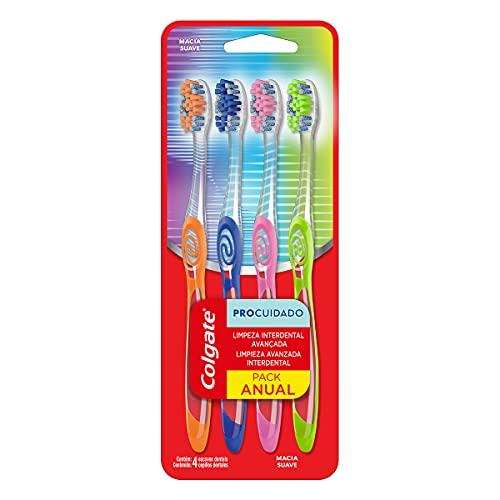 Escova Dental Colgate Pro Cuidado 4Unid