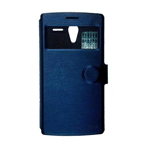 Primux PTCOVALP4BP Funda para teléfono móvil Libro Azul - Fundas para teléfonos móviles (Libro, Primux, Alpha 4/Zeta 2, Azul)
