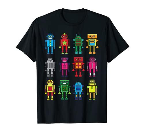 Robot Shirt Funny Robot Technology Tee