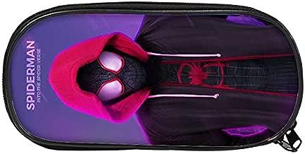 Spider Man Trousse à crayons grande capacité pour enfant Motif dessin animé Spider Man 19,22 cm x 11 cm x 4,5 cm