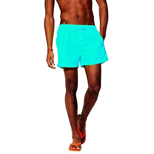 Coole-Fun-T-shirts Neon zwembroek zwembroek zwemshorts Lifeguard reddingszwemmer strand zwembad meer geel, neongroen, neonroze heren maat XS S M L XL XXL