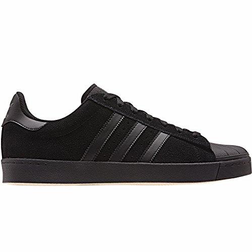 adidas Superstar Vulc Adv, Scarpe da skate Uomo, Nero (Negbas/Negbas/Negbas), 36 EU