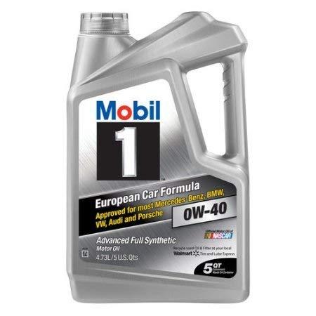 Mobil 1 0W-40 Advanced Full Synthetic Motor Oil, 5 qt.