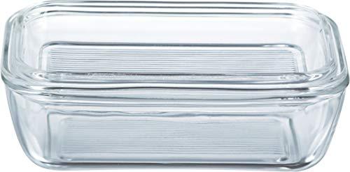 Luminarc ARC 60118 Helper Butterdose, Glas, transparent, 1 Stück
