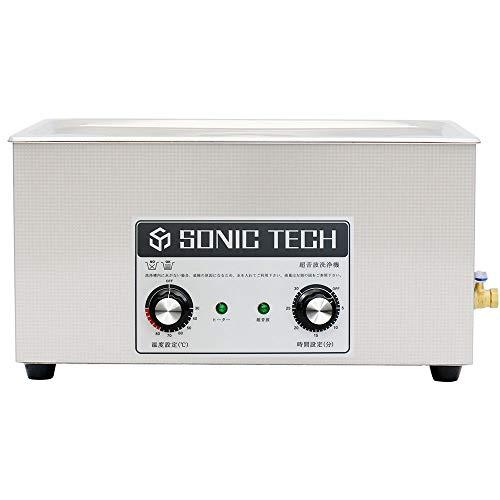 ソニックテック 超音波洗浄機 ST08M 400W 22L 機械制御超音波洗浄器