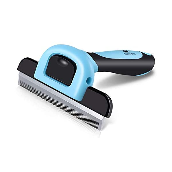 Pet Grooming Brush Effectively Reduces Shedding by up to 95% Professional Deshedding...